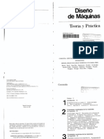 Diseño de maquinas - Teoria y Practica