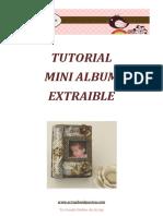 Scrapbookpasion Tutorial Mini Album Extraible
