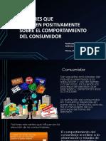 Factor Positivo Sobre El Consumidor