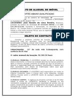 Contrato de Aluguel de Imóvel José Renato de Lima Pereira
