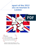 The Impact of the 2012 Olympics on Tourism in London - Final
