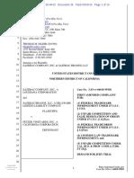 Sazerac Co. v. Fetzer Vineyards - buffalo whiskey trademark.pdf