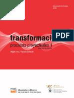 Transformaciones - Procesos Proyectuales 1
