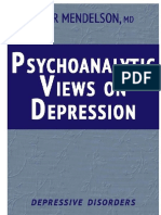 Psychoanalytic Views on Depression