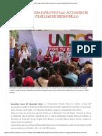 18-03-16 Entregó Claudia Pavlovich 227 acciones de Vivienda a 844 Familias de Hermosillo. -El Observador