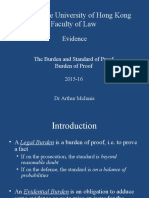 Week 2 - The Burden of Proof 2015-16