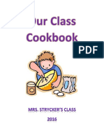our class cook book 2016