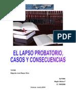 PROYECTO DE LA MATERIA  Introducción, Instrucción y Decisión de la Causa. 2014.doc