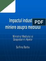 Impactul Industriei Miniere Asupra Mediului Heredea