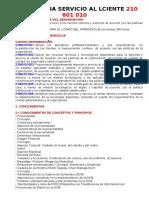 Competencia Servicio Al Lciente 210 601 010