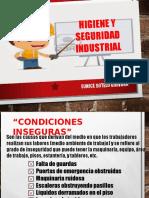 Seguridad Ocupacional e Higiene Industrial 2016