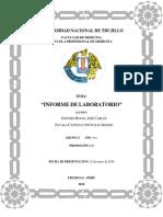FÓRMULA LEUCOCITARIA EN LOS ESTUDIANTES DE MEDICINA DEL GRUPO D DE LABORATORIO EN LA UNIVERSIDAD NACIONAL DE TRUJILLO