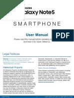 Buku Panduan Samsung Note 5
