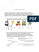 integrated unit assessment