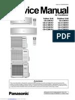 Manual Panasonic CU C12KKV 7