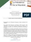 Compte Rendu - Conseil Des Ministres Du 23 Mars 2016