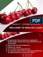 Un Excercise - Arrange Sentences