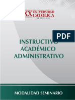 Instructivo Investigación