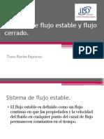 1.6 Sistemas de Flujo Estable y Flujo Cerrado