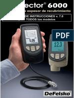 Manual Positector 6000