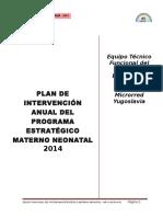 Plan Anual 2014 Materno - FINAL GENERAL