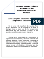Temario Curso Electronica Basica y Componentes Electronicos