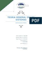Teoría General de Sistema