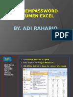 m5 Mempassword Dukumen Excel