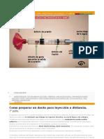 Inyección a Distancia