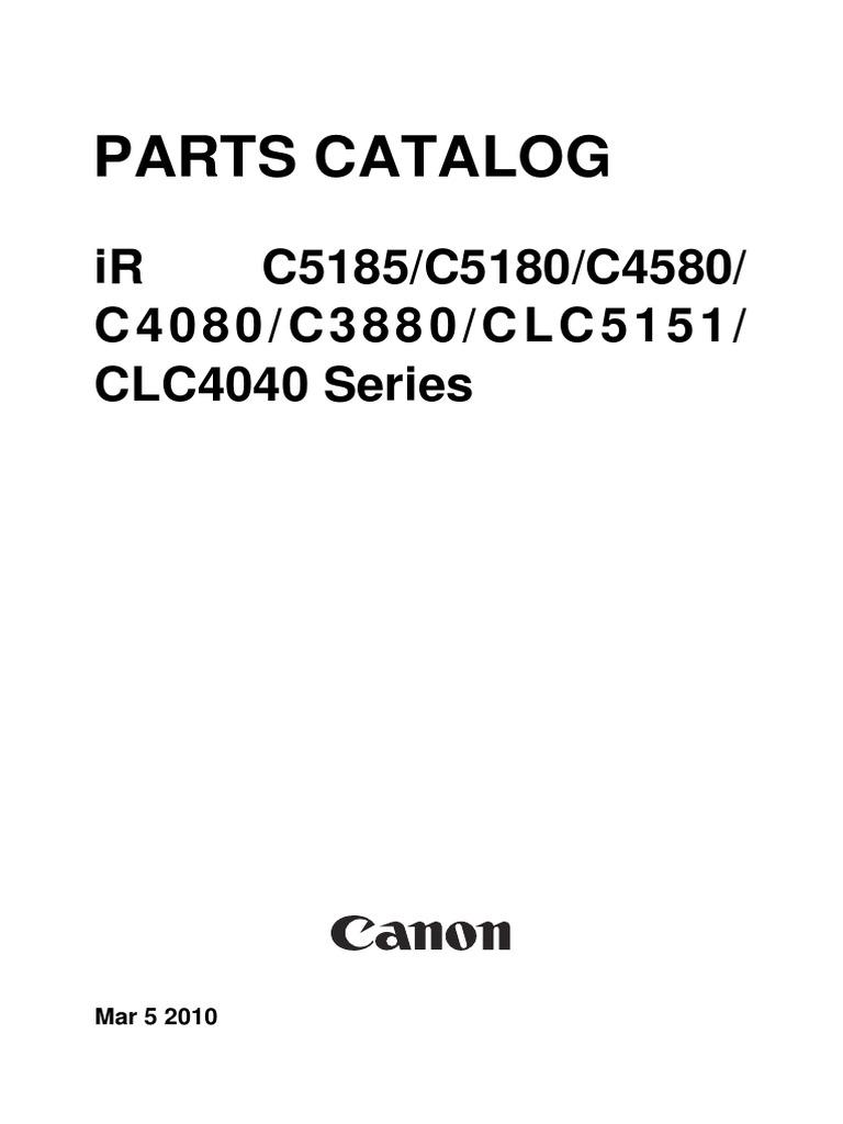 irc c5185 5180 c4580 c4080 c3880 series parts manual rh scribd com Ir Tools Parts Ingersoll Rand Impact Parts Breakdown