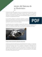 Funcionamiento Del Sistema de Aceleración Electrónico
