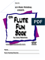 Newman,L.flute Fun Book.children Music WorkShop