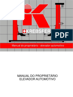 Elevador Krebsfer-manual Do Proprietario-V1