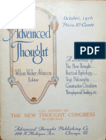 Advanced Thought v1 n8 Oct 1916