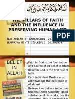 The Pillars of Faith and the Influence In