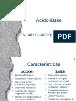 Ã-cido Base  pH
