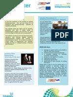 Institute for Applied Entrepreneurship Newsletter SPRING 2010