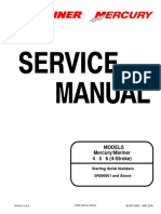 mercury 4 hp motor service manual