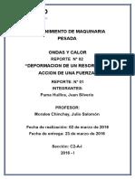 Reporte de Ondas y Calor Lab 02 Puma
