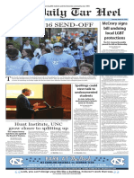 The Daily Tar Heel for March 24, 2016