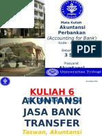 6th Lect. - Akuntansi Jasa Bank - Transfer (1)