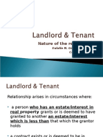Landlord & Tenant Part I Nature of Relationship.ppt