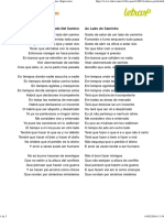 Al Lado Del Camino (Tradução) - Fito Páez (Impressão)