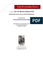 The Story of Social Innovation
