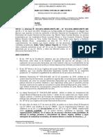 JEE Declara Infundado Exclusion de KeikoF Fujimori