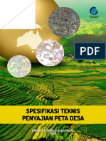PerKaBIG 2016 3 Spesifikasi Teknis Penyajian Peta Desa