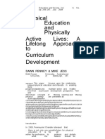 Physical Education and Physically Active Lives - A Lifelong Approach to Curriculum Development