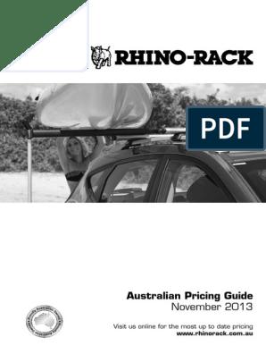 RLKS5 Rhino Rack 2500 Leg Spacer 42mm