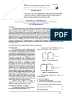 Performance Analysis of an Interior Permanent Magnet Synchronous Motor Using Belbic