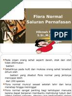 Kuliah 1. Flora Normal Pada Saluran Pernafasan